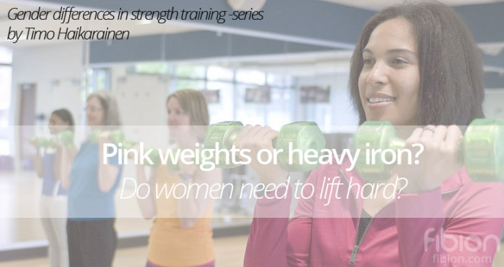 Gender Differences in Strength Training