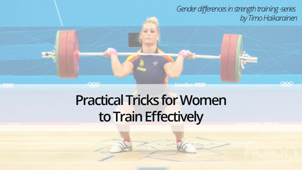 Practical Tricks for Women to train Effectively Blog Series